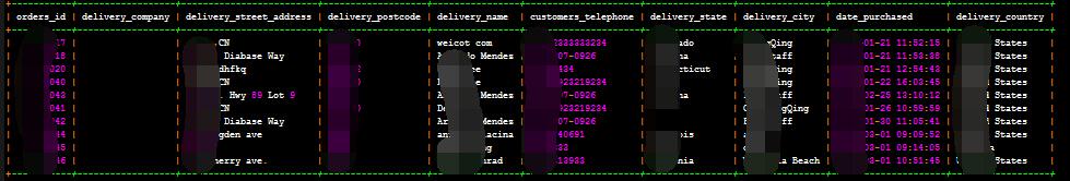 zencart 导出带图的订单之 获取定单基本信息sql