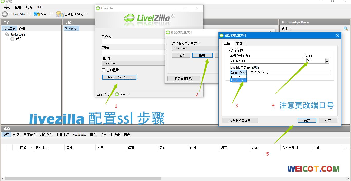 LiveZill 客服系统安装及配置ssl 支持