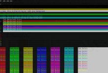 PHP 或其他脚本 在终端输出带颜色的字体 或制表符