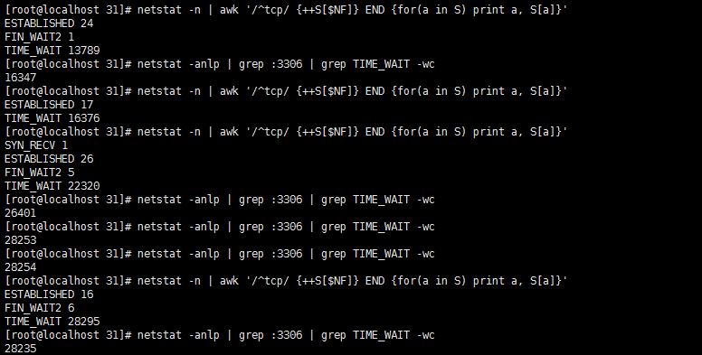 MYSQL 大并发情况 出现 Cannot assign requested address 问题 以及基础的TCP/IP TIME_WAIT状态原理解析