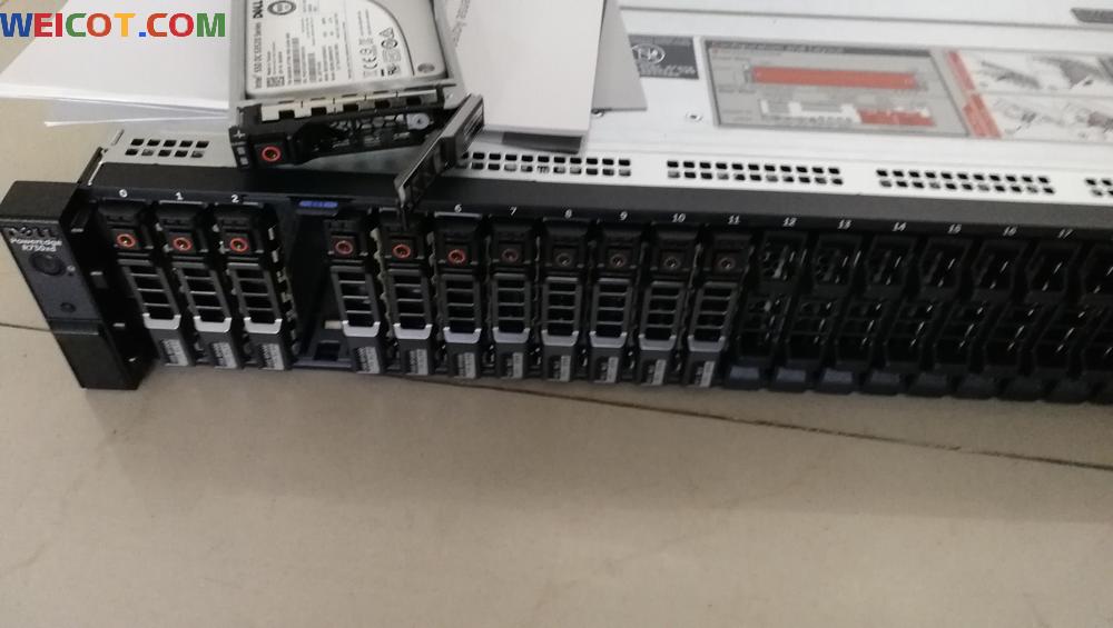 评测新的PowerEdge R730xd  2U    CPU*2 40核服务器