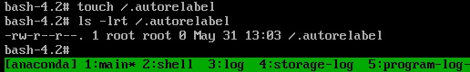 SeLinux-Autorelabel
